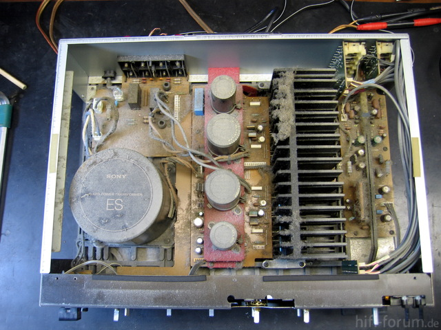 TA-F550ES Vor Reinigung