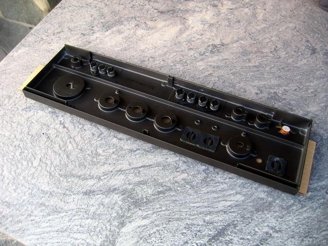 Technics SU-8080 Frontplatte