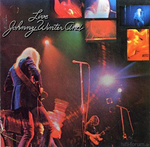 Johnny Winter And Live Front Orig