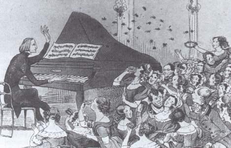Karikatur Liszt
