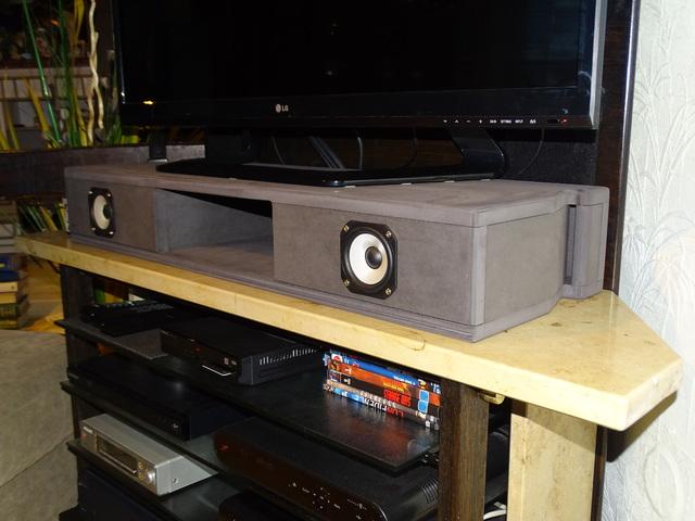tv soundbar im stil eines diy picolino 2 diypicolino. Black Bedroom Furniture Sets. Home Design Ideas
