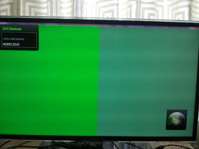 HDMI-Eingang Mit Verf?lschten Farben Dargestellt