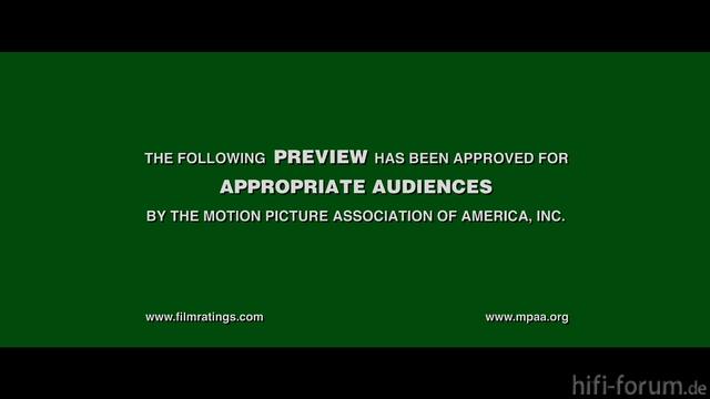 Grünes Trailer-Intro