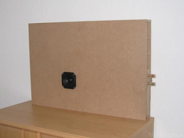 Box Im Rohzustand