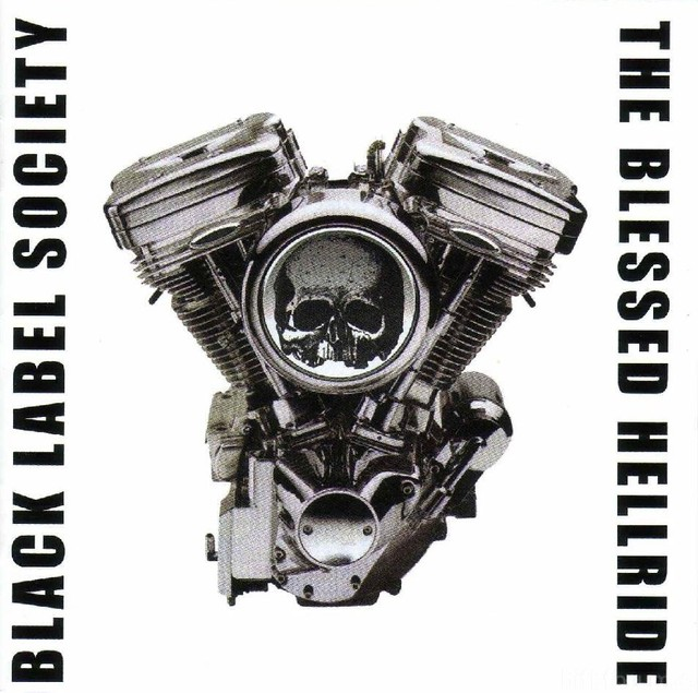 Black Label Society   The Blessed Hellride   Front