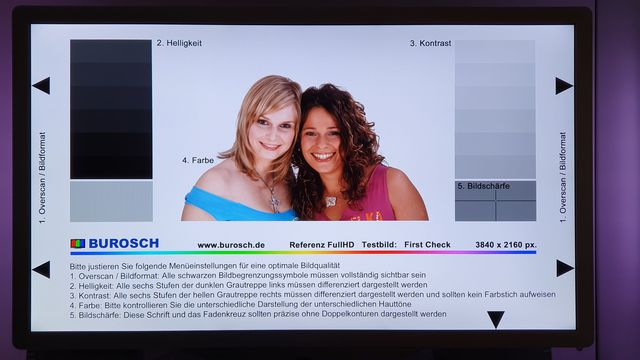 Testbild Philips 42er PFL 7606 H Fernseher