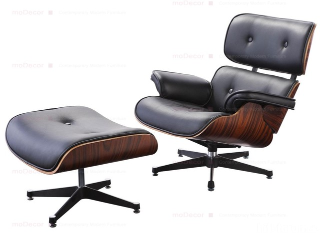 1 Charles Eames Lounge Chair And Ottoman