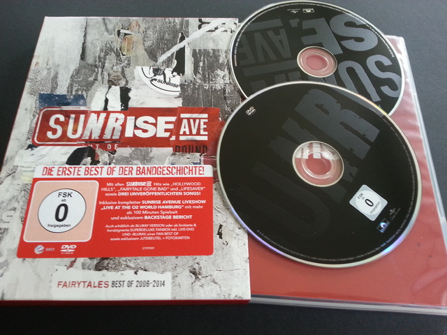 Sunrise Avenue - Fairytales - Best Of 2006 - 2014 (2CD) (Deluxe Edition) (2014)-cover
