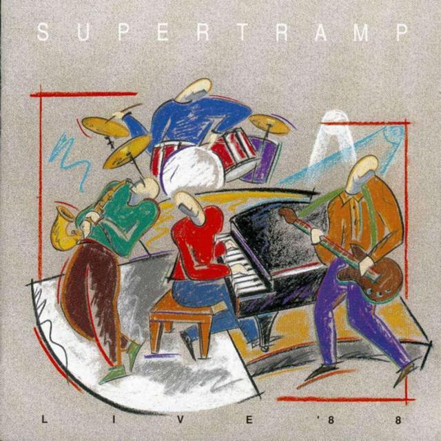 Supertramp - Live '88 (1988)(320)