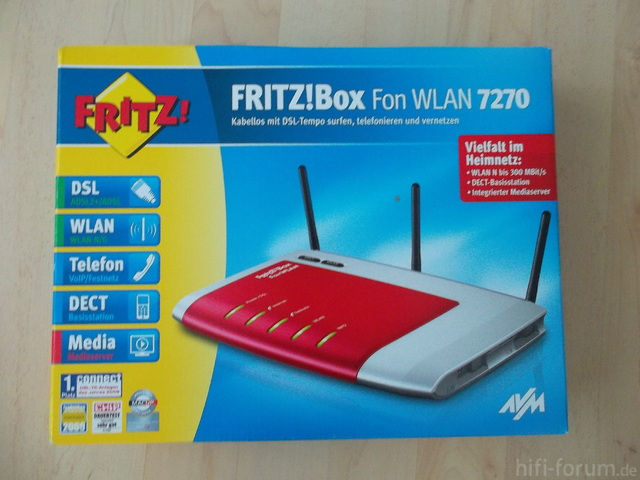 AVM Fritz Box 7270