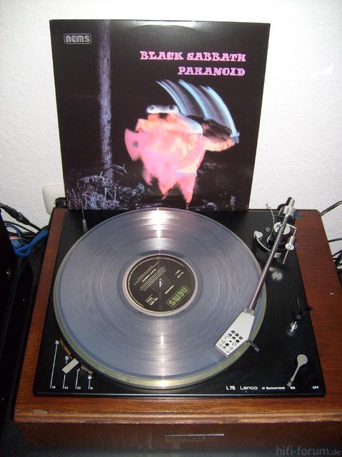 Black Sabbath Paraniod