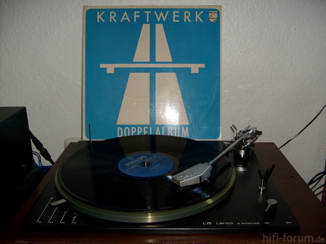 Kraftwerk Autobahn - Doppel-LP