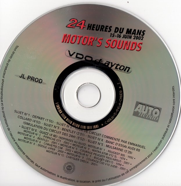 Le Mans Sounds 2002