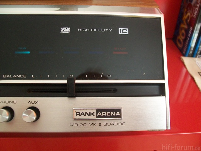 Rank Arena MR 20 MK II QUADRO