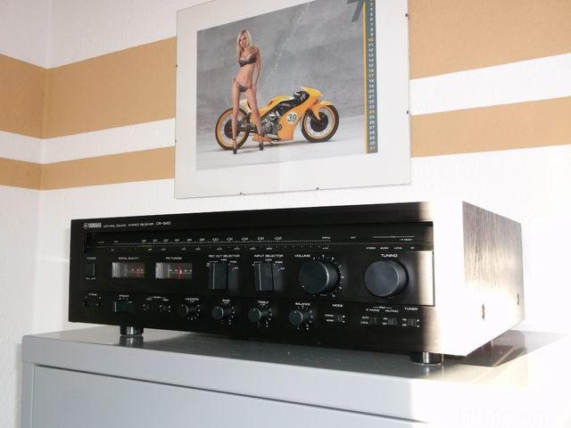 Receiver Yamaha CR-640