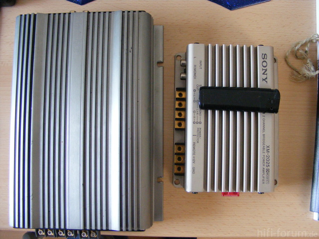 Sony XM-2025 Audison LR3041 Vergleich