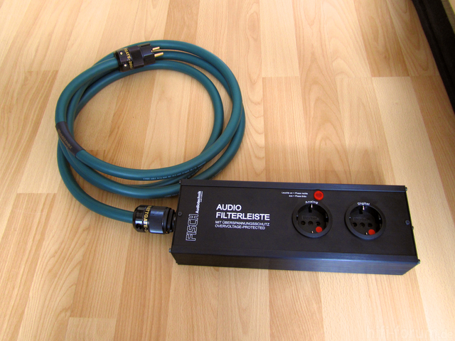 Kimber PK10 Gold Mit Wattgate 390i & 350i Mit Fisch Audio-Filterleiste AFL