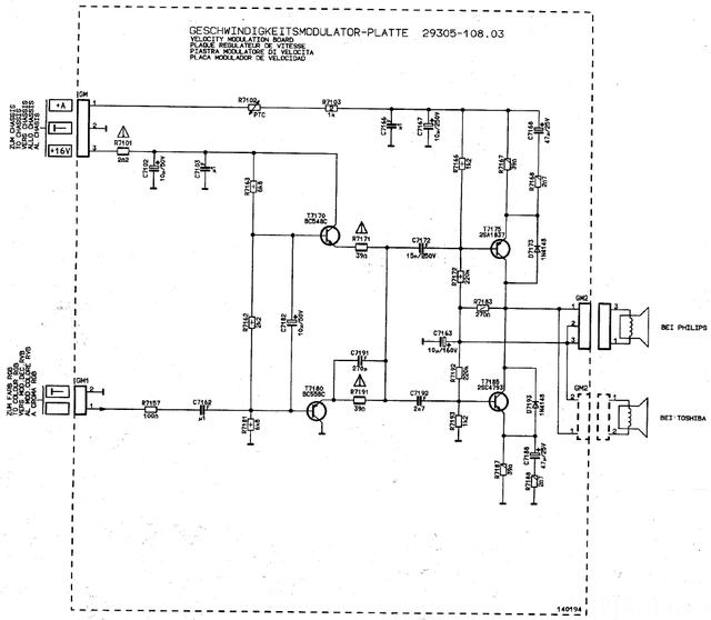 Geschwindigkeitsmodulator - Platte 29305-108.03
