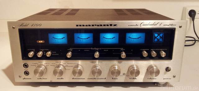 Marantz 4100 Console Quadradial 4 Amplifier