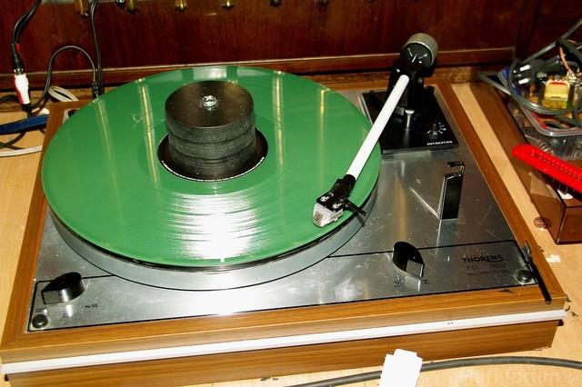 Grüne LP Auf Modifiziertem Td65