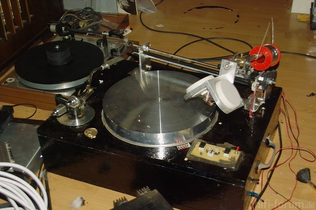 My Homemade Record Lathe