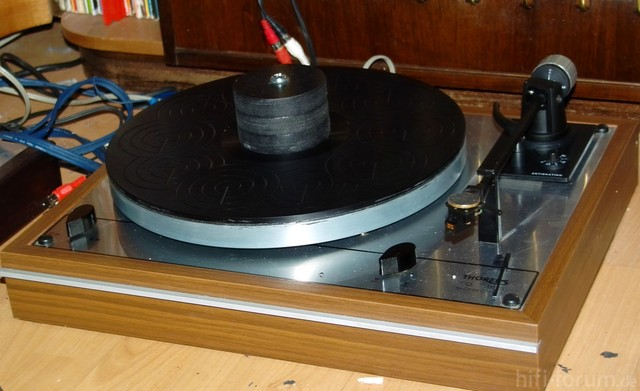Thorens Td165 Special, Modifiziert