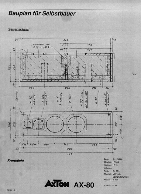 3- Wege Gehäuse AX-80 zu verschenken (Berlin), Selbstbau ...