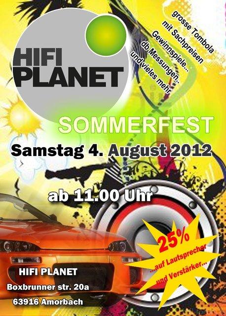 Sommerfest Amorbach