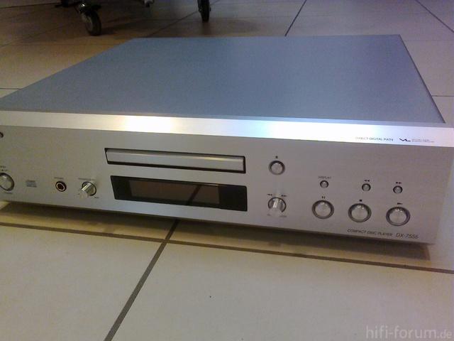 Mein Onkyo DX-7555 S