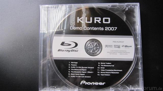 Kuro Bluray