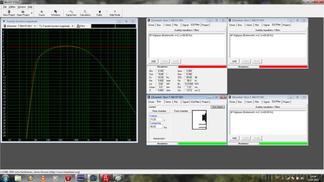 Vergleich Eton 7 360 Geschlossen BR 60 Hz