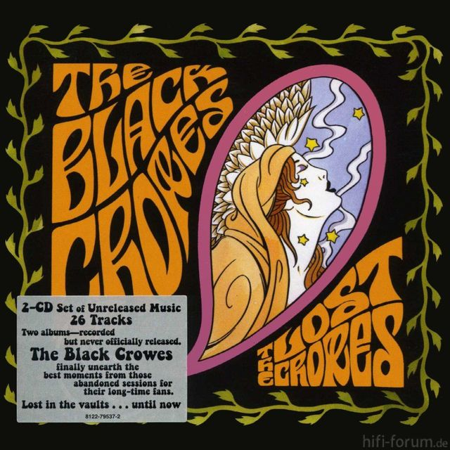 The Black Crowes The Lost Crowes Front