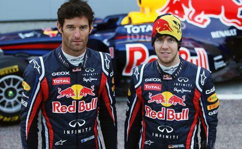 Vettel Und Webber