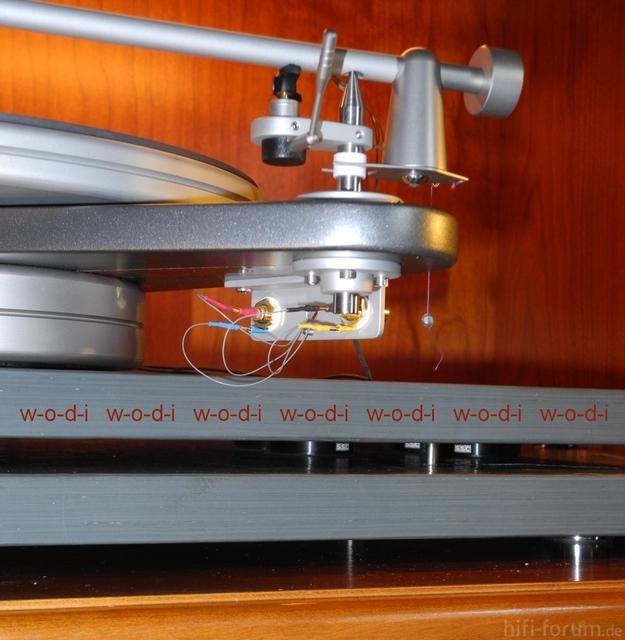 Simon Yorke S9 auf 3 Schieferplatten