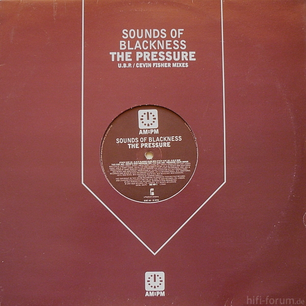 Sounds Of Blackness The Pressure (u B P  Cevin Fisher Mixes)
