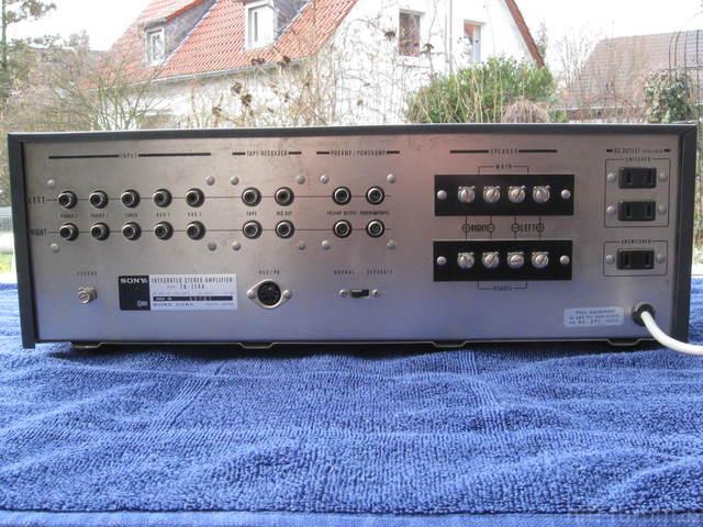 Sony TA-1144 Rückseite