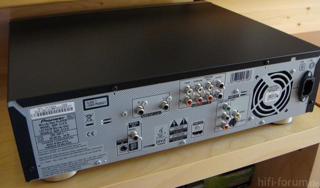Pioneer BDP-51FD Rückseite