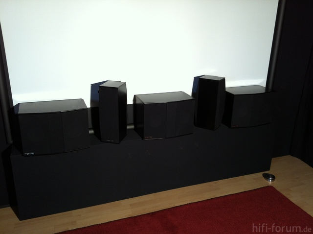 Teufel Theater 8 Cinema Set