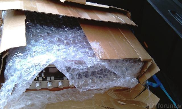 Marantz Verpackung