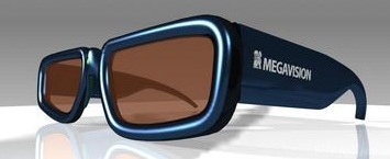 MEGAVISION 3D Glasses Ver2 Small