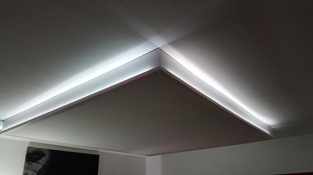 Badezimmer indirekte beleuchtung