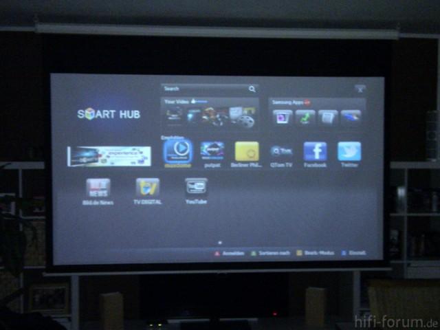 SmartHub Hauptseite