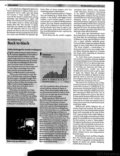 Economist Vinyl Revival