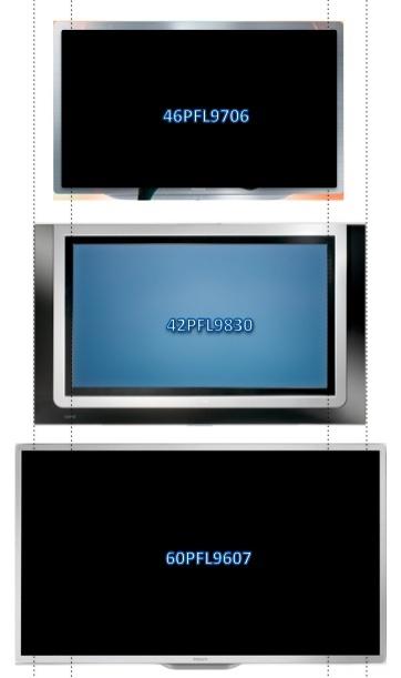 46PFL9706 Vs 42PF9830 Vs 60PFL9706
