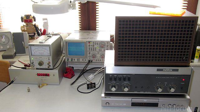 Frequenzgang Messplatz