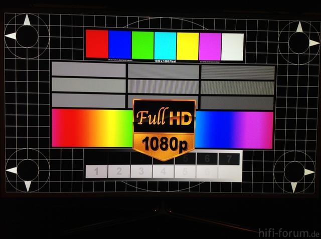 UE46ES6710 3D Testbild