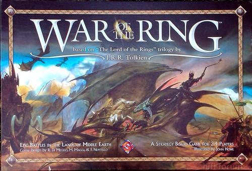 Herr Der Ringe - Ringkrieg