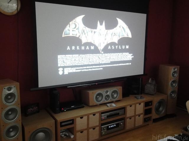 Batman Auf 234cm Bilddiagonale