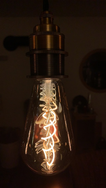 Hängelampe Vintage Edison Style Filament LED