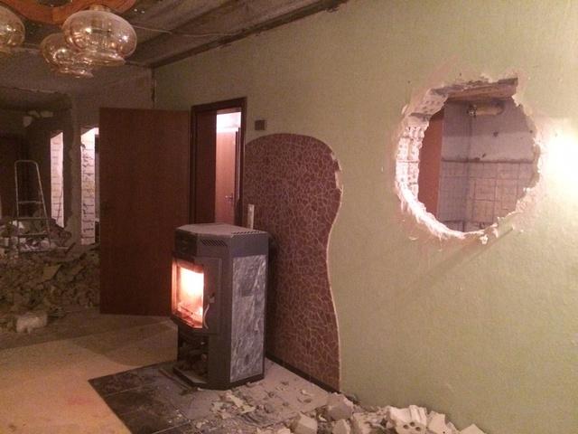 Rundes Fenster zur Küche 3